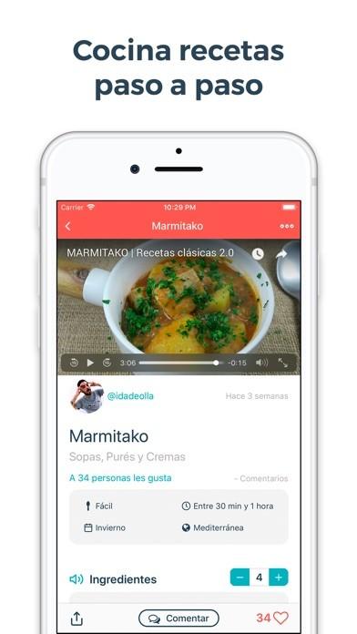 Que cocino hoy recetas de cocina para iphone descargar gratis imagen 2 de que cocino hoy recetas de cocina para iphone forumfinder Image collections
