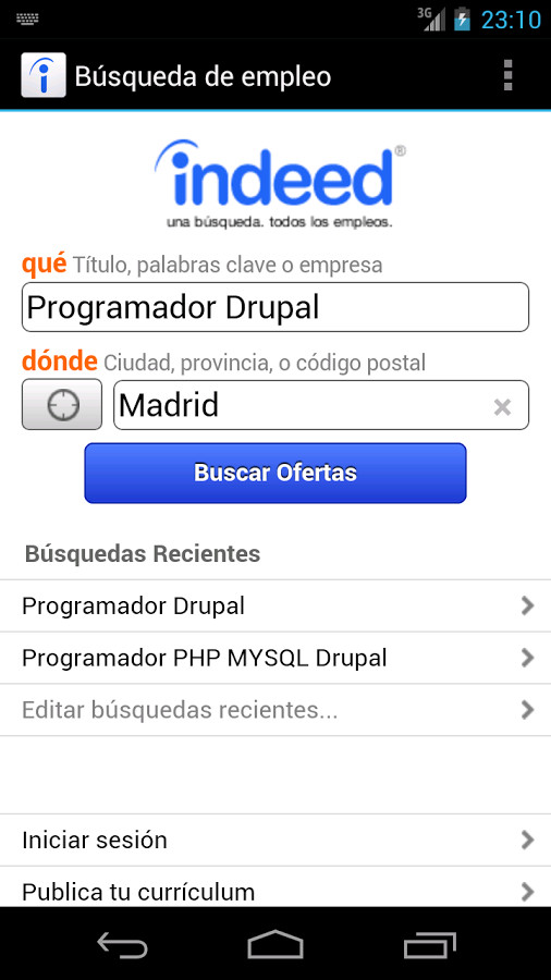 empleo - indeed jobs para android