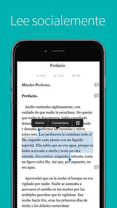 Libros gratis para iphone en español