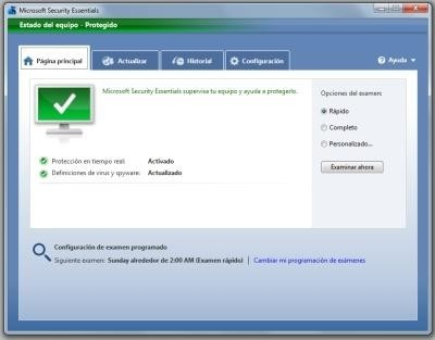 antivirus essentials windows 7 gratis
