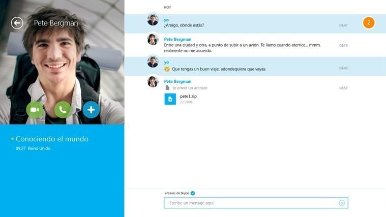 descargar gratis skype para escritorio windows 8