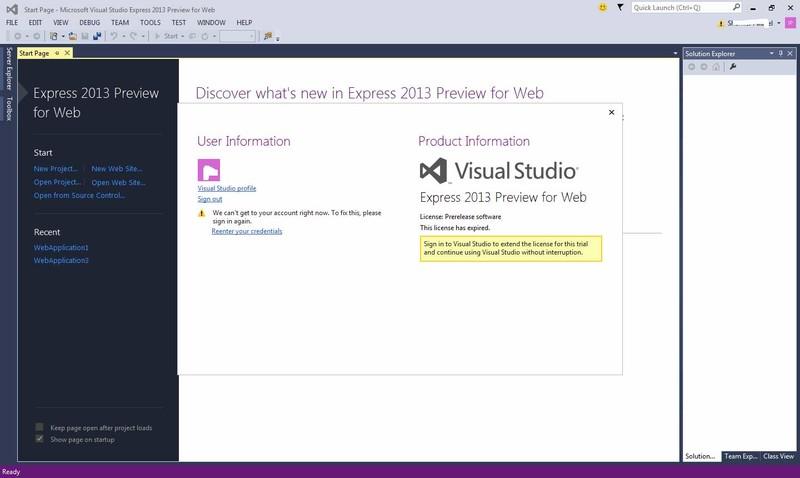 Microsoft visual studio express para web descargar gratis - Disena studio ...