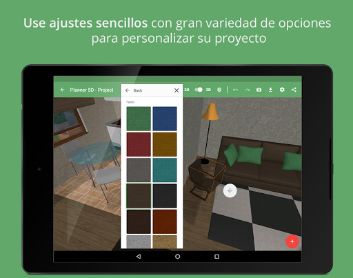 Planner 5d home design para android descargar gratis for Mejores apps de diseno de interiores