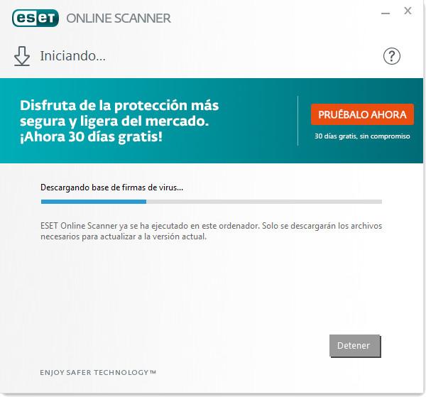 ESET Online Scanner - Descargar Gratis