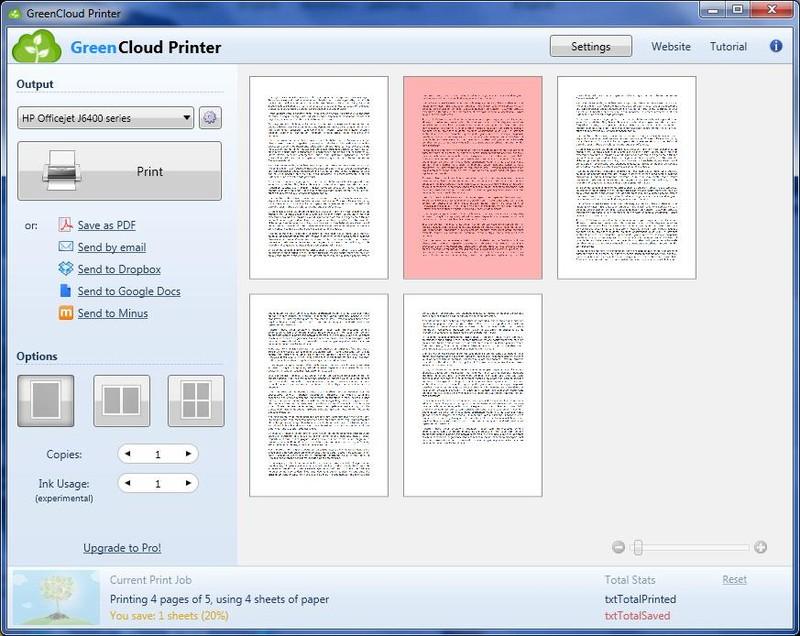 Greencloud Printer Descargar Gratis
