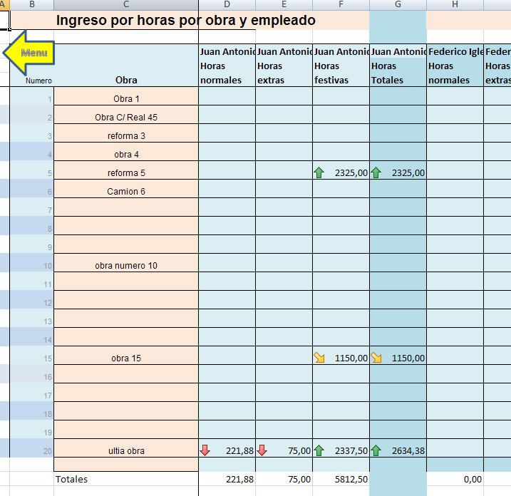 obras con ingresos y gastos excel opiniones precios y demo