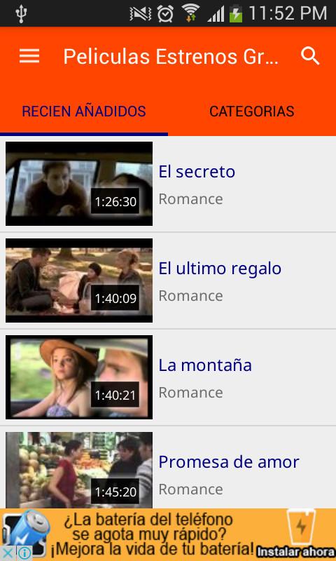 aplicacion para descargar peliculas gratis en español android
