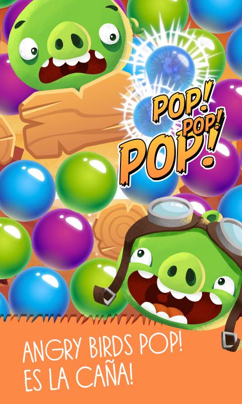 Angry Birds Pop Bubble Shooter Para Android Descargar Gratis
