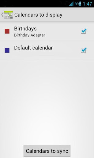 how to add birthday in android calendar