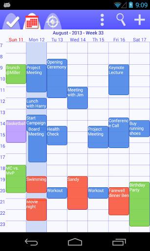 Calendario Android.Calendario Tareas Organizador Para Android Descargar Gratis