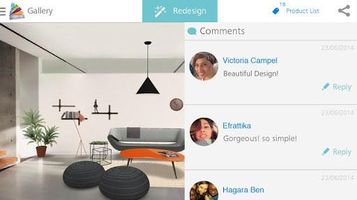 Homestyler para android descargar gratis for App diseno interiores