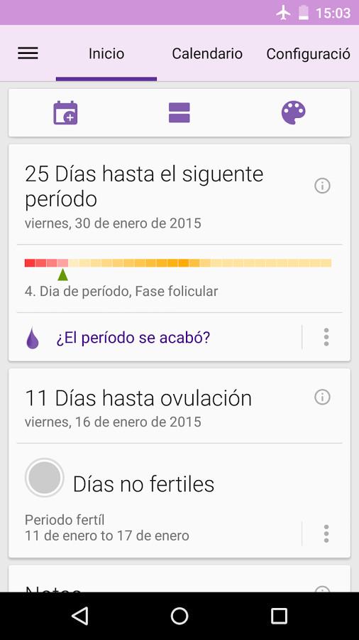 Calendario De Periodo Menstrual.Periodo Menstrual Calendario Para Android Descargar Gratis