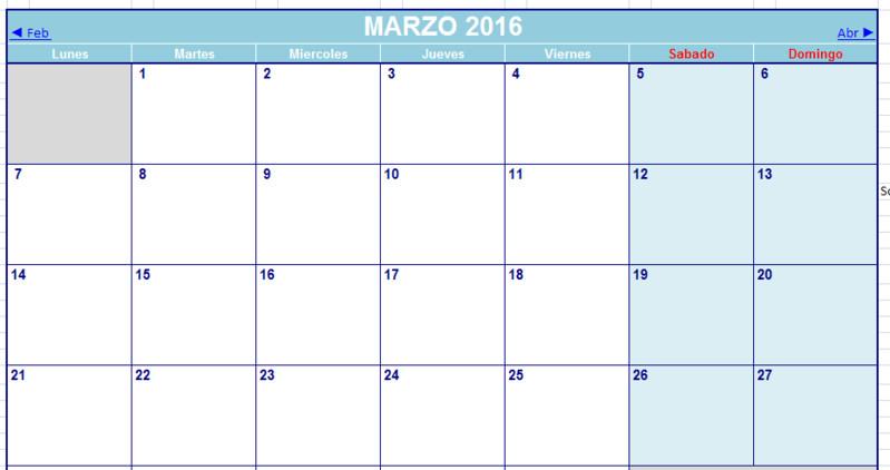 Calendario Para Escribir.Calendario 2016 Opiniones Precios Y Demo