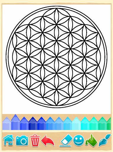 Páginas para colorear Mandala para Android - Descargar Gratis