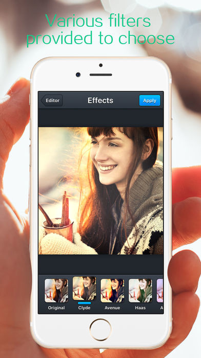 Aplicacion composicion fotos iphone 96
