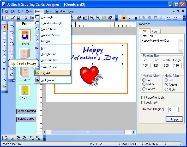 Belltech greeting card designer descargar gratis for Programa para hacer cocinas integrales gratis