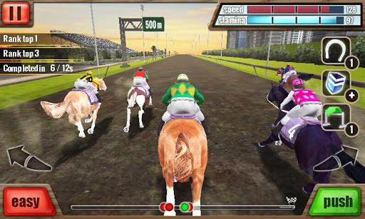 Carrera de caballos 3D para Android  Descargar Gratis