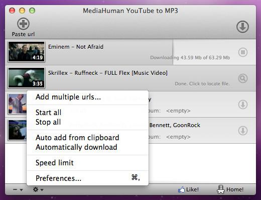 youtube to mp3 converter para mac descargar gratis. Black Bedroom Furniture Sets. Home Design Ideas