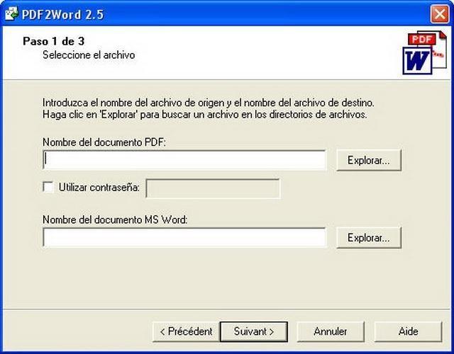PDF to WORD - Descargar Gratis
