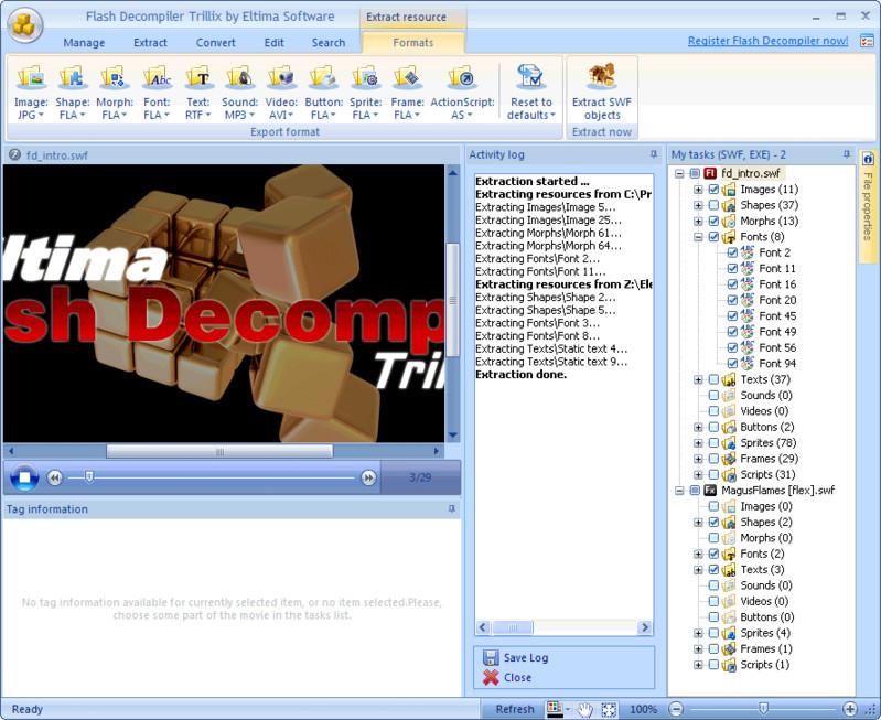 SWF Decompiler - Descargar Gratis