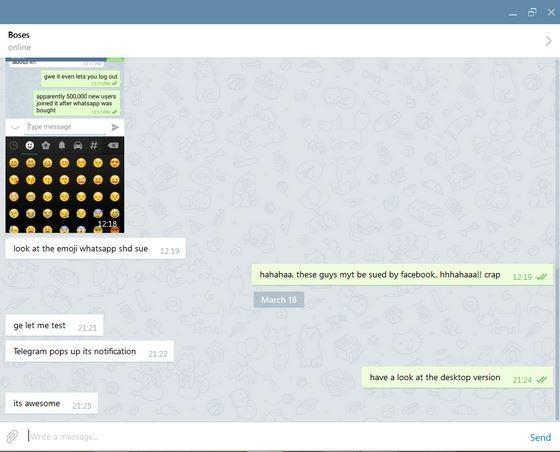Telegram for Desktop - Descargar Gratis