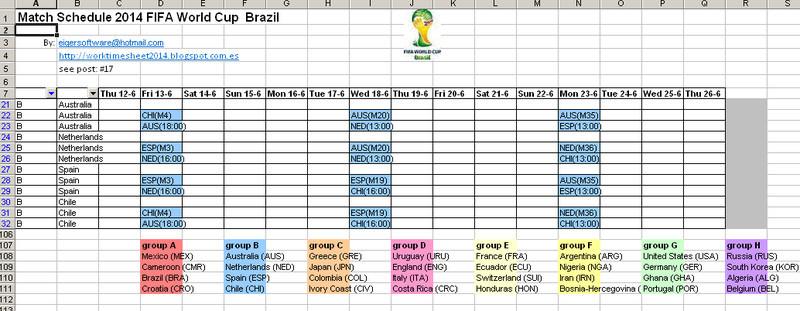 Calendario Mundial Futbol.Calendario Fifa 2014 Mundial Futbol Descargar Gratis