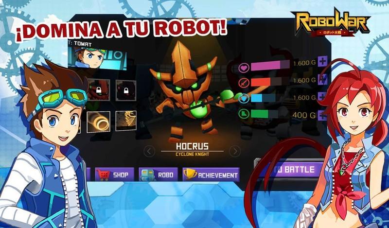 Robowar Guerra De Robots Para Android Descargar Gratis
