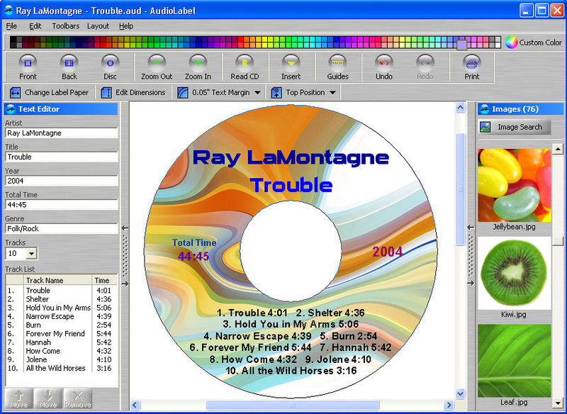 Audiolabel cd dvd labeler descargar gratis for Programa para disenar ambientes 3d gratis