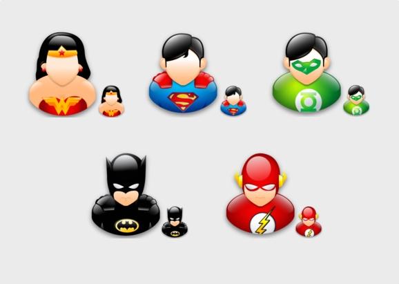 41df3231c9055 Super Hero Icons - Descargar Gratis