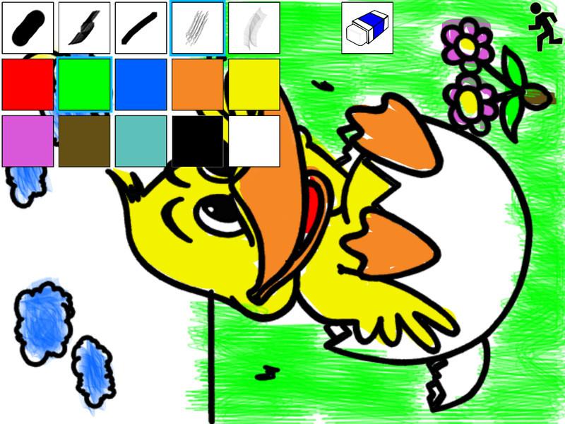 Pintar Y Colorear Gratis Niños Para Android Descargar Gratis