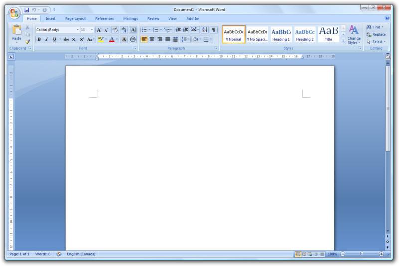 descargar paquete microsoft office 2007 gratis para windows xp
