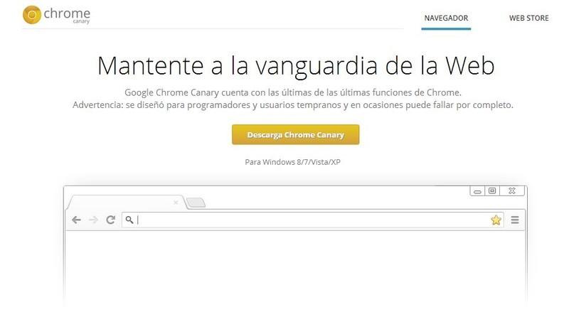 Google Chrome Canary - Descargar Gratis