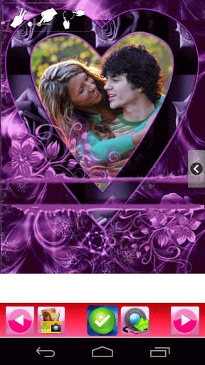 Foto marcos románticos de amor para Android - Descargar Gratis