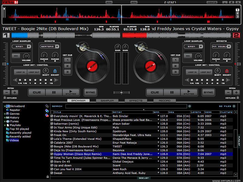 table de mixage virtuel a telecharger gratuitement
