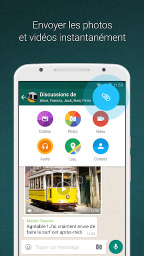 WHATSAPP ANDROID TÉLÉCHARGER 2.2.2 POUR