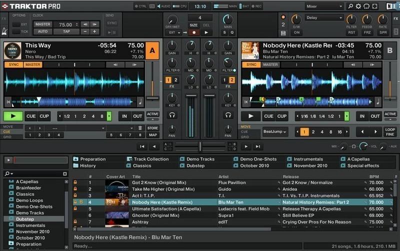 Traktor dj studio pro t l charger gratuitement - Telecharger table de mixage dj gratuit pour pc ...