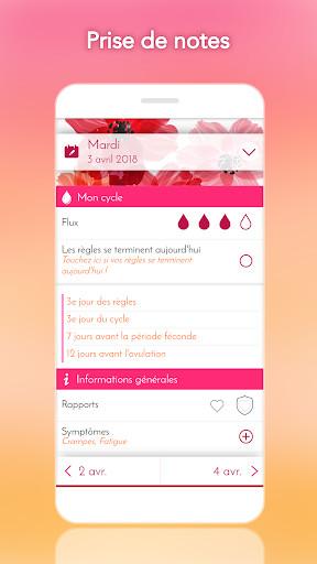 Calendrier Pour Les Regles.Calendrier Menstruel Pour Android Telecharger Gratuitement