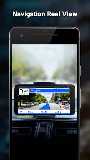 cartes de navigation gratuites pour android. Black Bedroom Furniture Sets. Home Design Ideas