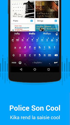 Ne partez pas sans votre téléchargement! Kika Emoji Keyboard Pro – Free est un nouveau style de clavier qui fait une série d'outils graphiques de communication ...