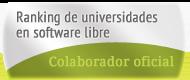 Colaborador oficial en RuSL, Ranking de Universidades en Software Libre