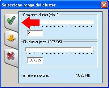 Cluster recuperar