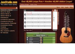 Crea tu música online con JamStudio en milbits