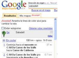 Google maps para hacer tus rutas online en milbits