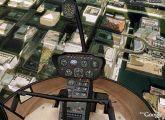 Un helicóptero sobrevuela Google Earth. en milbits