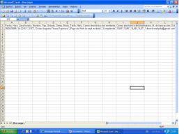 Pasar un fichero en formato CSV a formato Excel en milbits