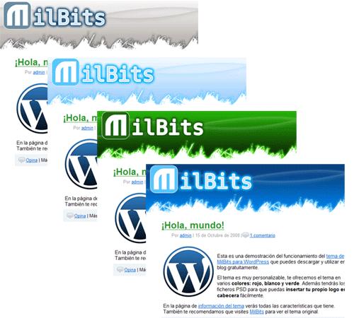 Liberamos nuestro tema para Wordpress!