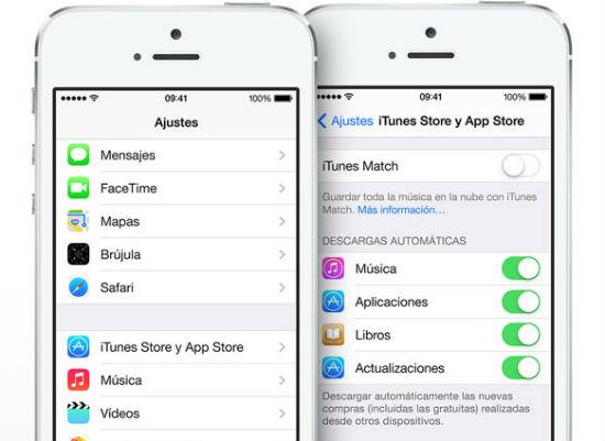 Actualizacion automatica de Apps con iOS 7
