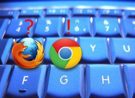 Atajos de teclado para Chrome y Firefox en milbits