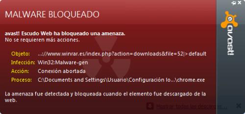 Alertas de antivirus falsas