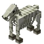 Caballo-esqueleto en Minecraft
